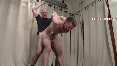 Danny - Bound,teats pegged,drool used as lube, drilled