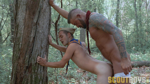 Marcus - Gathering Wood with Scoutmaster Dietrich