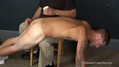 Mike Gets His Hardest Spanking Yet