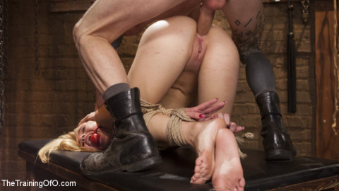 Anal Slave Trained in Hard Bondage: Alina West Day One