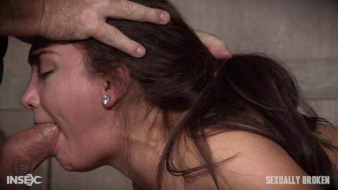 Gabriella Paltrova - Brutal deepthroating and Os!