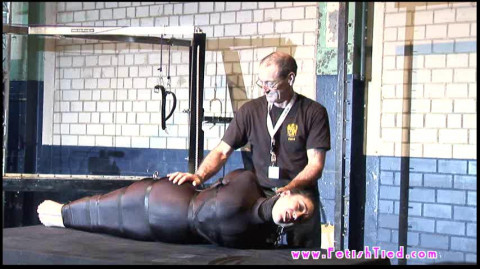 Bondage Girls With Device And Mummification Suspension And Gagged 49 Video Part 2