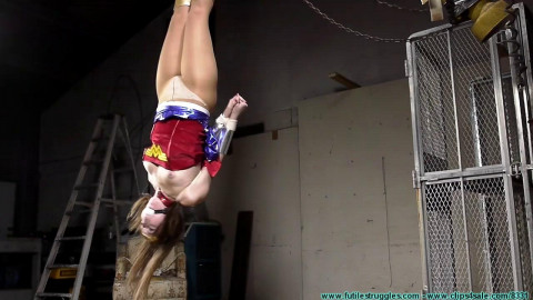 Woman Wonder Is Professor Meat Paws Bondage Captive - Rachel - Part 2 - HD 720p