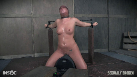 Maddy OReilly is sexually brutalized by penis & restraint bondage