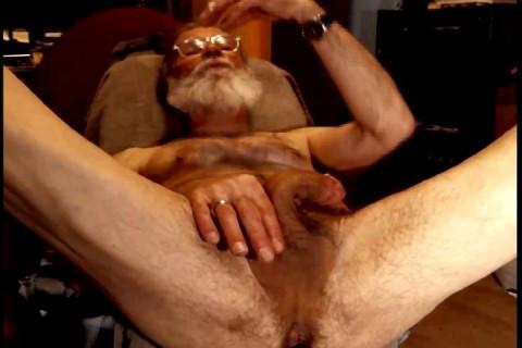 Grey Beard guy from chaturbate