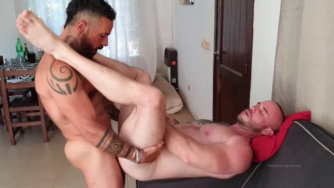 Growxtrong, Thebeardx and Reykong - Threesome