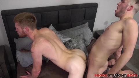 BrokeStraightBoys - Ryan Gives Calhoun Sawyer His Cock
