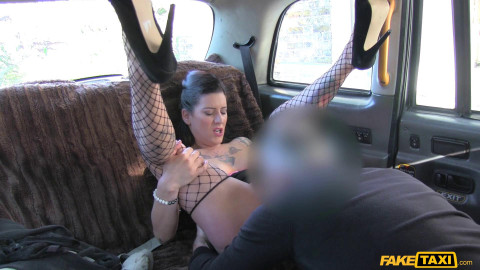 Back seat anal with hot czech babe