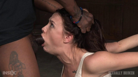 Sexy Chanel Preston gets a orgasm and facefucking overload Sexuallybroken style in tight bondage!