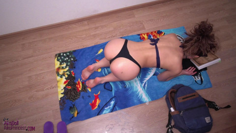 Sunbathing Masturbation