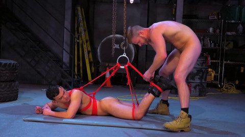 Bondage Garage, Scene 02 Brian Bonds, Eli Lewis