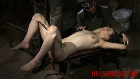 Nadjas BDSM Interrogation Involves a Rusty Hook And her Pussy (2015)