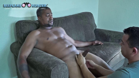 Beefcake Hunter - James - Sexy blatino got the cock sucking he deserves