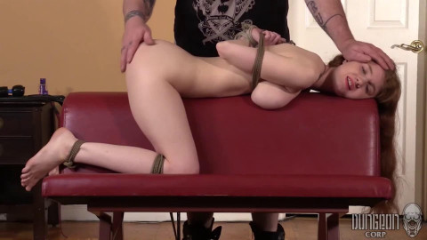 Hard restraint bondage, spanking and torment for very sexy serf beauty part 2 Full HD 1080p