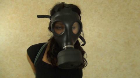Gas Mask 001 Drea Morgan