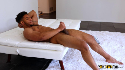 Arturo Torres Milks His Cock On The Couch 1080p