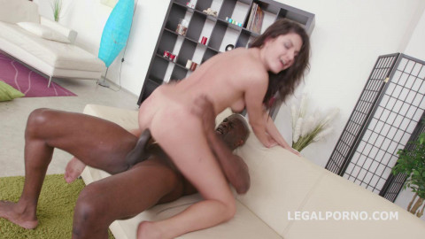 Black Buster, Francesca Dicaprio Hammered by Mike All Anal (2016)