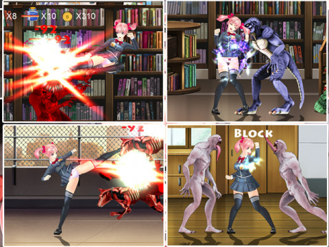 Fighting Girl Sakura - R
