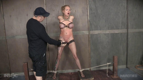 Rain DeGray is bound up & punished