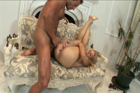 Wife Trinity Creamed In Her Little Ass