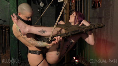 Sensualpain - Mar 22, 2017 - Hole Test For slave jess