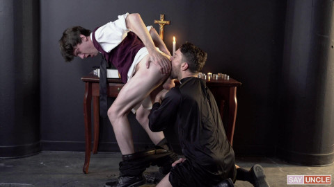 YesFather Dale Kuda & Edward Terrant - A Cleaning Confession