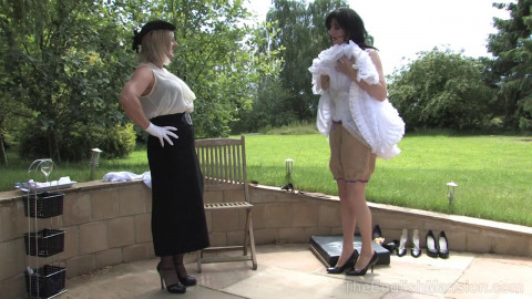 The English Mansion - Correcting My Sissy Maid - Domination HD