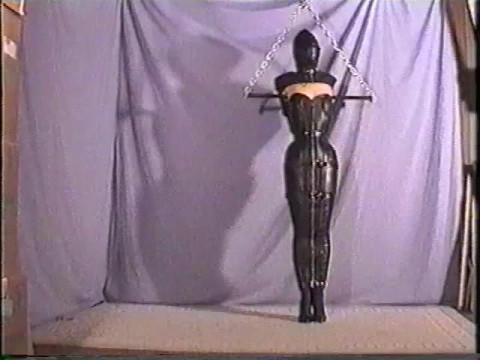 Poor lady got nothing else to do but to just endure being in bondage