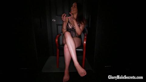 Lolas First Glory Hole Video