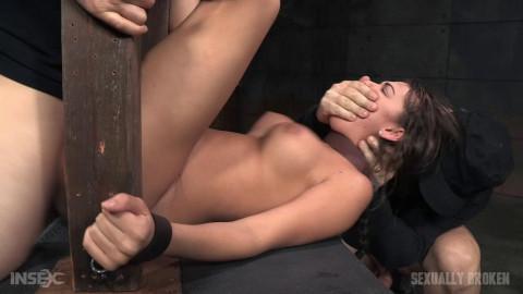 Big butt brunette Charlotte