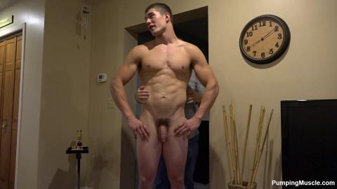Pumping Muscle Beau C Photo Shoot 1 (1080p)