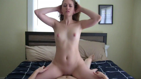 Teen Riding - Cowgirl  Creampie