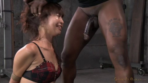 Tiny Asian Marica Hase Gets Bound