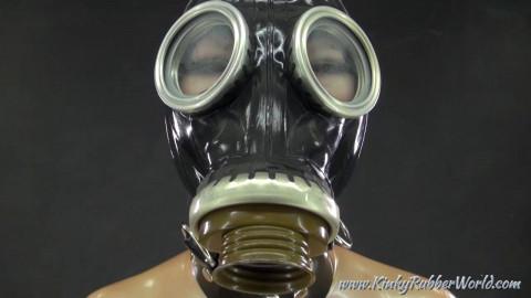 Latex and Gasmask