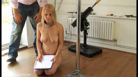 Hard tying, domination and pain for hawt blond part 4 HD 1080p