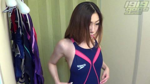 Voyeur Swimsuit try-on