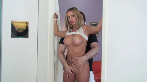 Francesca Bound Melons and Bawdy cleft Teasing - HD 720p