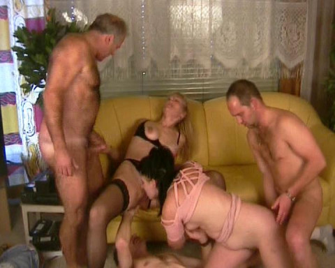 Oldies throw an orgy