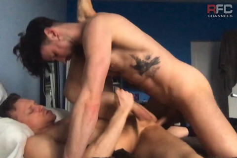 RFC - Ethan & Drew Rough Sex In Bed Bareback