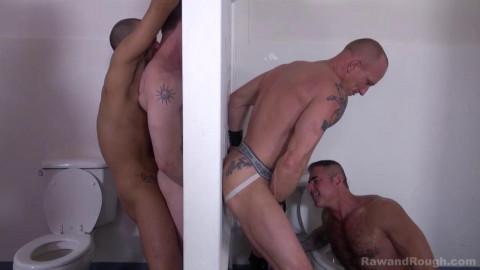 Pleasant memories of sex in the lavatory
