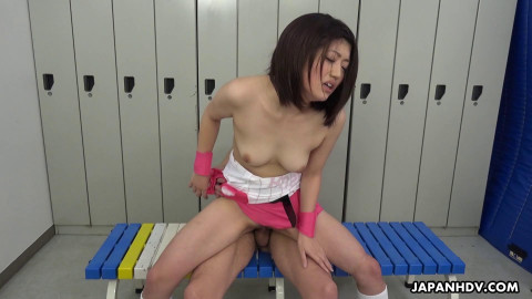 Kiara Minami - Baseball Fan has a tutor that helps receive her body willing