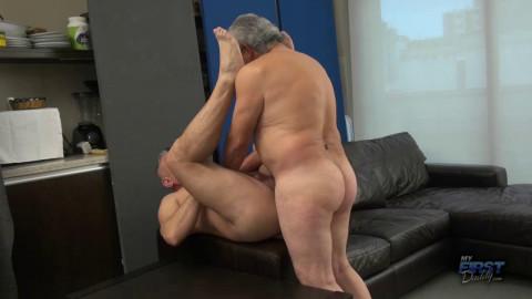 MyFirstDaddy - Macho Grandpa Fucks Horny Daddy - Greko, Kenso