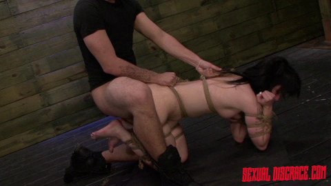 First Porn Video in Bondage
