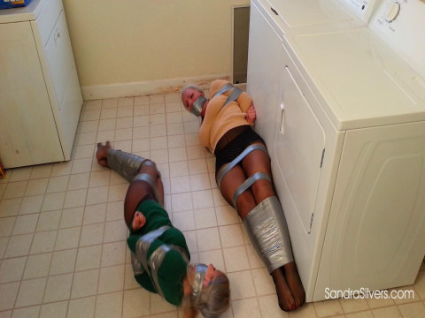 MOTHER ID LIKE TO FUCK Roommates Duct Taped in the Laundry
