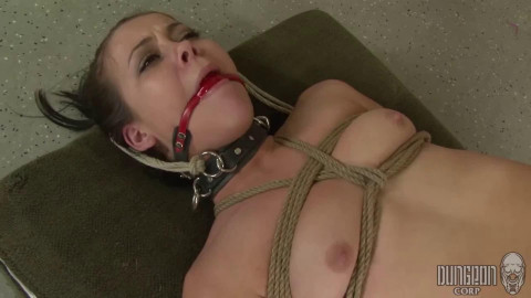Tying, suspension, spanking and pain for ssexy whore part FIRST