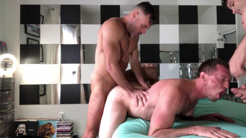 Manuel Skye - 3some with Pierce Paris and Pierre Fitch