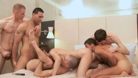 Cum Gangbang At Hotel