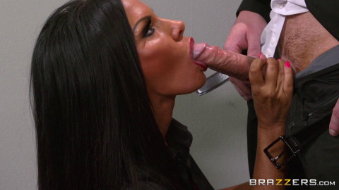 Perfect Sexy Secretary With Big Tits