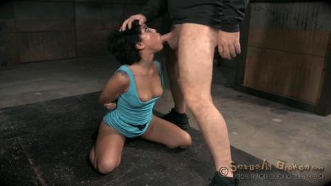 Realtimebondage - Jun 01, 2015- Eager and willing Mia Austin handcuffed