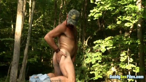 DaddySexFiles - Dad Bear Bating In The Woods